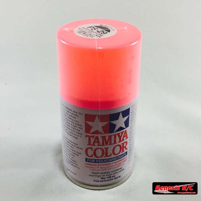 90d318d51bfa1 Tamiya 86029 - PS-29 Polycarbonate Spray Fluorescent Pink 3 oz
