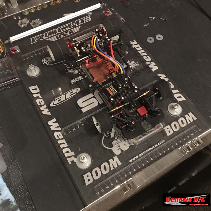 Genesis R/C GRC100-200 – Custom Acrylic Pitboards