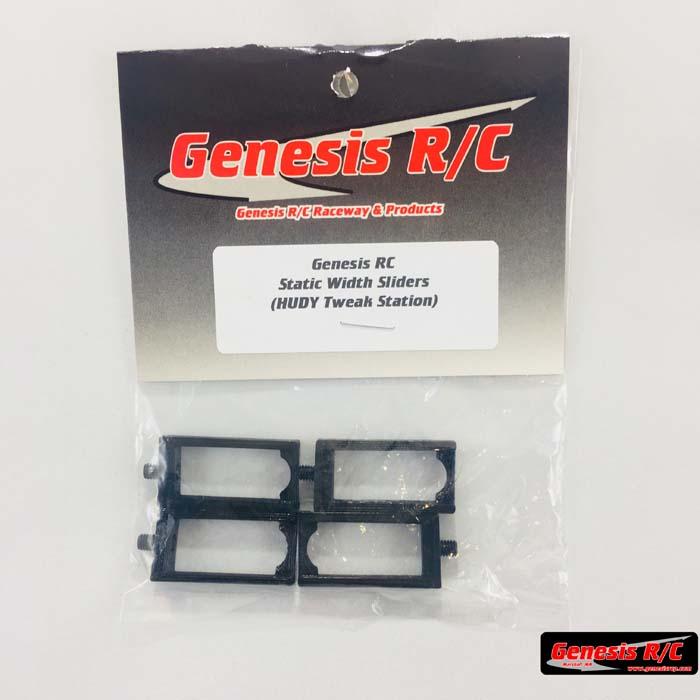 Genesis R/C GRC800 –  3D Printed Static Width Sliders (HUDY Tweak Station)